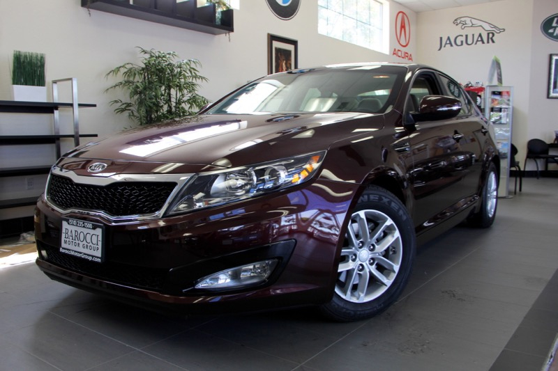 2012 Kia Optima LX Plus 4dr Sedan 6 Speed Auto Maroon Carpeted Floor Mats Cargo Mat Cargo Net