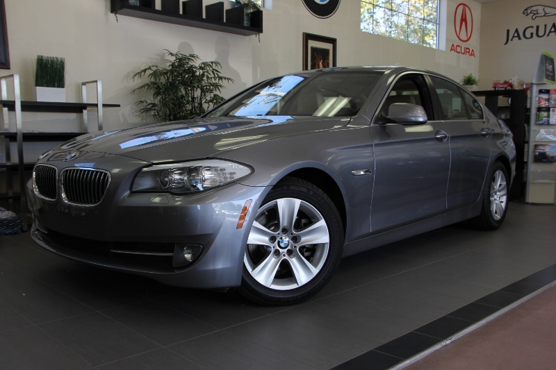 2012 BMW 5 Series 528i 4dr Sedan Automatic Gray ABS Air Conditioning Alarm Alloy Wheels Crui