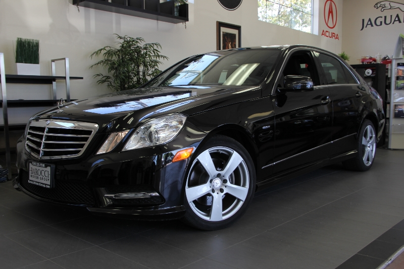 2012 MERCEDES E-ClassSport Pkg E350Panaramic Roof 7 Speed Auto Black Black Comes with the Pr