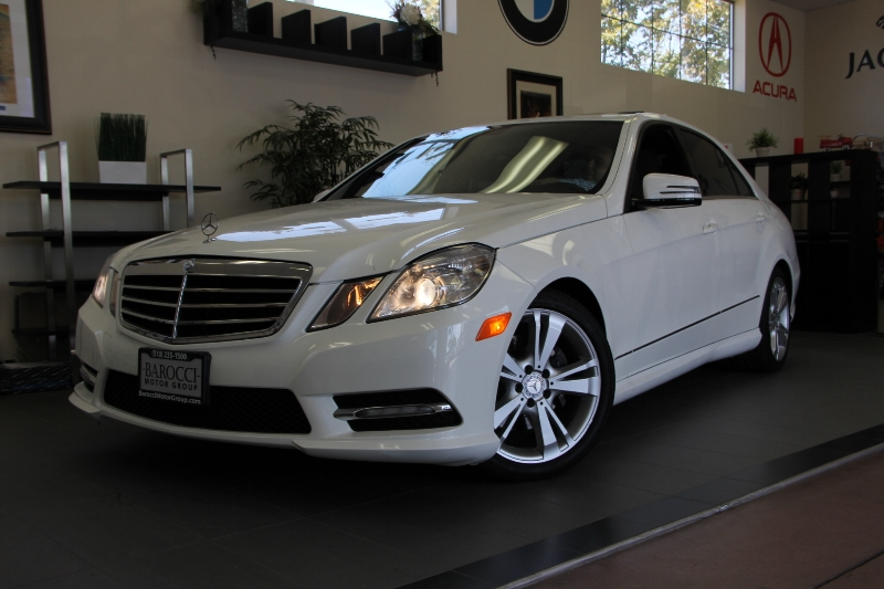 2013 MERCEDES E-Class E350 Sport 4dr Sedan 7 Speed Auto White Traction Control Electronic Stabi