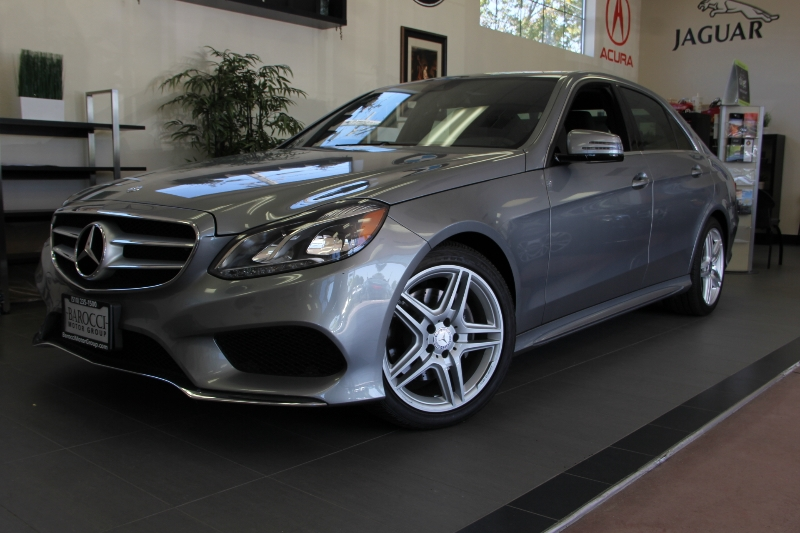 2014 MERCEDES E-Class E350 Sport PKg AMG Wheels 7 Speed Auto Gray Black Comes with the Premium