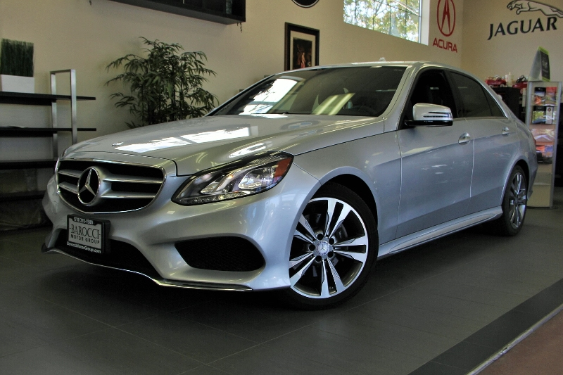 2014 MERCEDES E-Class E350 Sport 4dr Sedan 7 Speed Auto Silver Black Comes with the Premium Har