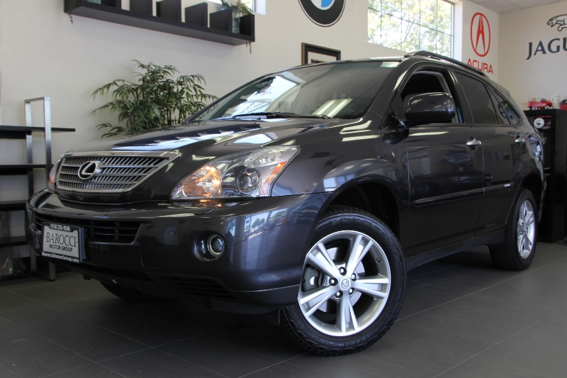 2008 Lexus RX 400h AWD Automatic Gray Black This is a beautiful vehicle in great condition insi