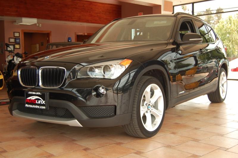 2013 BMW X1 xDrive35i 6-Speed Automatic Black Black XLine Package Dark Copper High-Gloss Trim