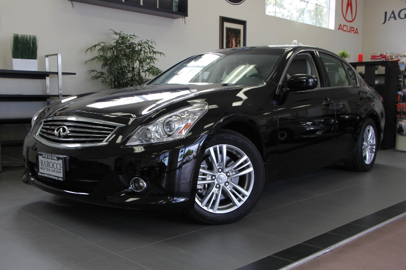 2013 Infiniti G37 Sedan Journey 4dr Sedan 7 Speed Auto Black ABS Air Conditioning Alarm Alloy