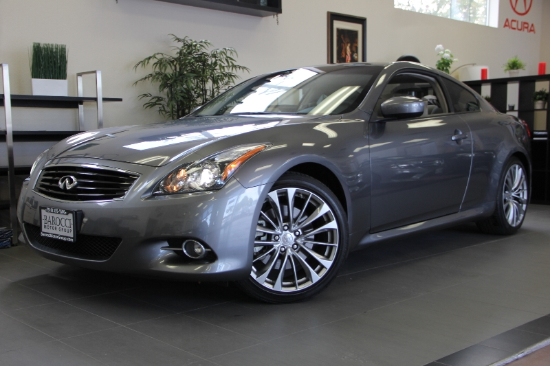2013 Infiniti G37 Coupe Journey 2dr Coupe 7 Speed Auto Gray ABS 4-Wheel Air Conditioning Alloy