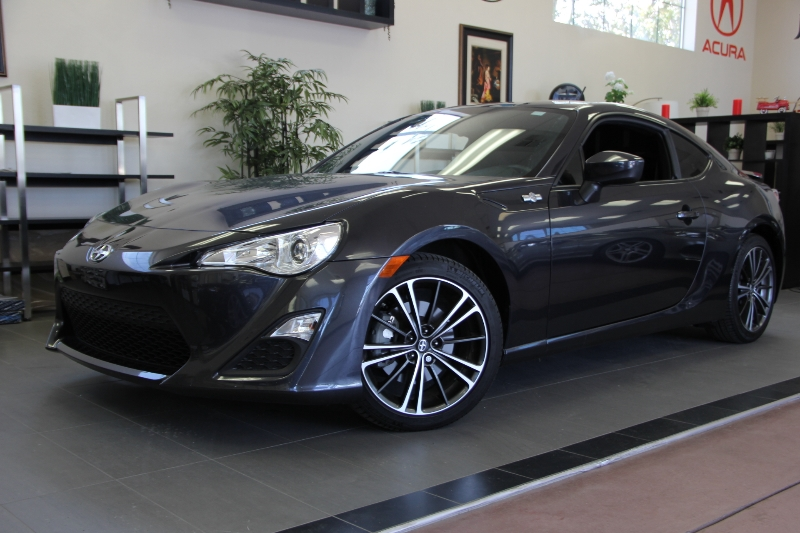 2013 Scion FR-S Base 2dr Coupe 6A 6 Speed Auto Gray ABS Air Conditioning Alarm Alloy Wheels