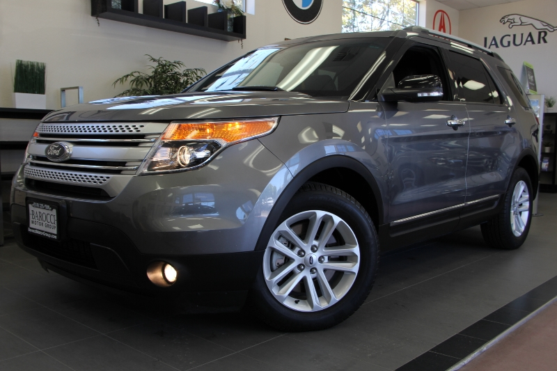 2013 Ford Explorer XLT 4dr SUV 6 Speed Auto Gray ABS Air Conditioning Alarm Alloy Wheels Cru