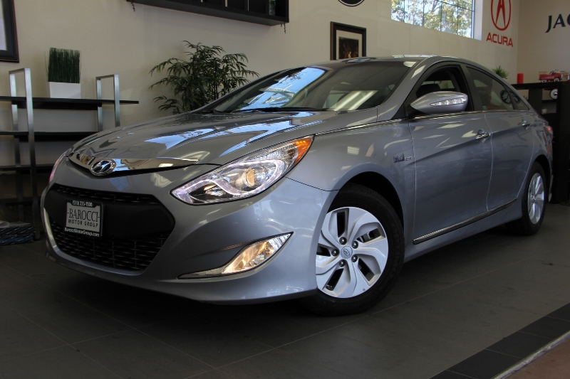 2014 Hyundai Sonata Hybrid Base 4dr Sedan 6 Speed Auto Gray Child Safety Door Locks Power Door