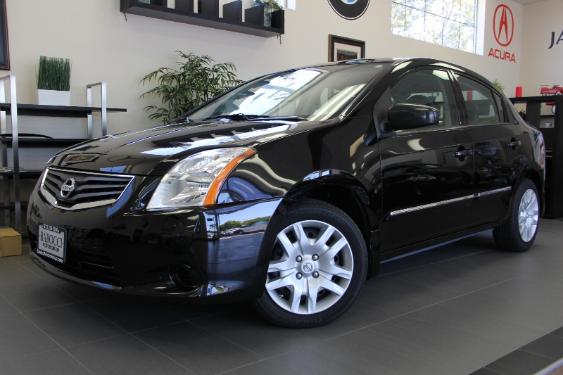 2012 Nissan Sentra 20 4dr Sedan 6M Automatic Black Child Safety Door Locks Power Door Locks V