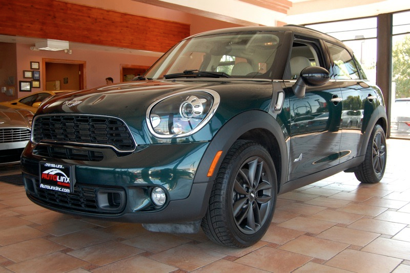 2012 Mini Countryman S ALL4 6 Speed Manual Green Black AWD Turbo Welcome to AutoLinx Inc Th