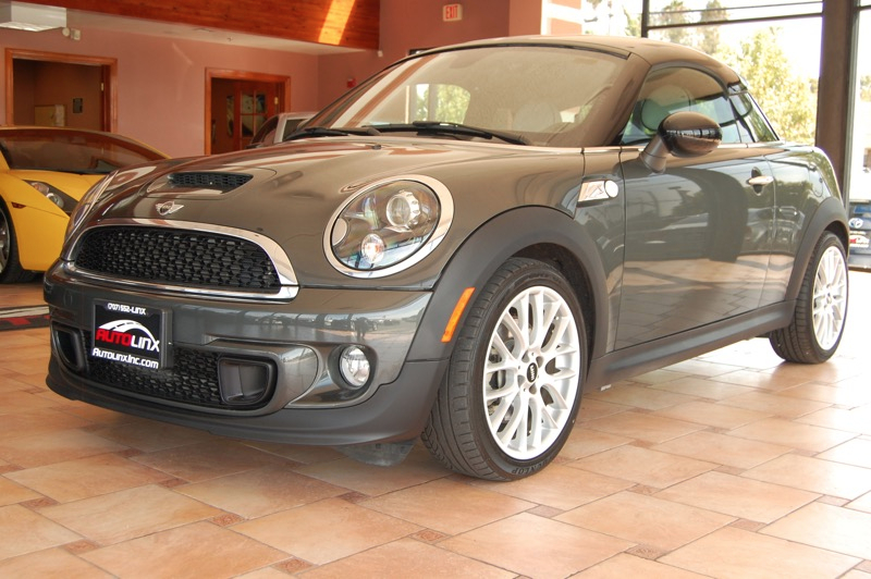 2013 Mini Coupe S 6-Speed Automatic  Brown Other Accident free Carfax History One Owner Compl