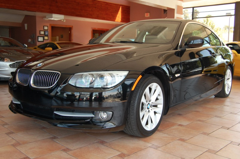 2012 BMW 3-Series 328i Coupe 6-Speed Automatic  Black Black Navigation Accident free Carfax Hi