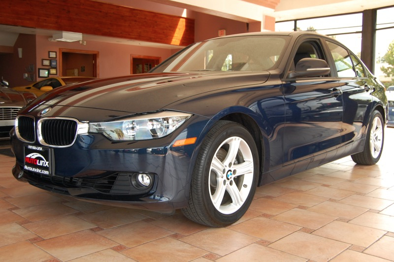 2012 BMW 3-Series 328i Sedan Automatic Blue Black Navigation Accident free Carfax History One