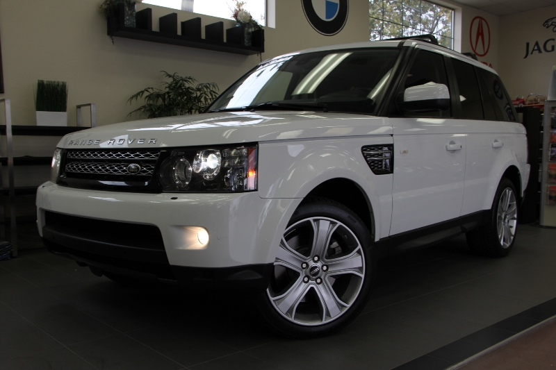 2012 Land Rover Range Rover Sport HSE LUX 4x4  4dr SUV 6 Speed Auto White Black Beautiful Luxur