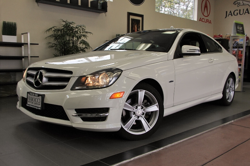 2012 MERCEDES C-Class C250 2dr Coupe 7 Speed Auto White Black This beautiful One Owner car gets