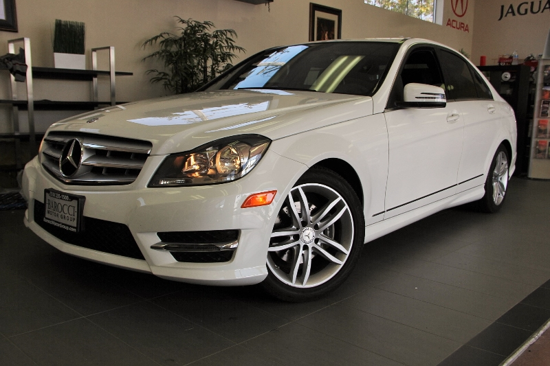 2013 MERCEDES C-Class C250  Sport 4dr Sedan 7 Speed Auto White Comes with remaining balance of f