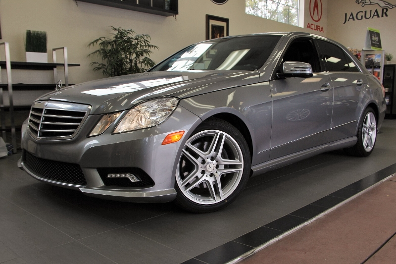 2011 MERCEDES E-Class E350 SportAMG Wheels 7 Speed Auto Gray Black Comes with the Premium Harm