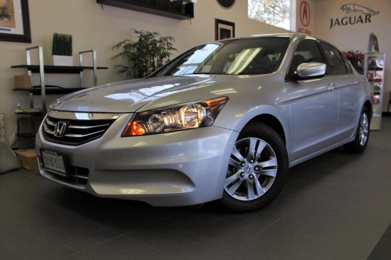 2012 Honda Accord SE 4dr Sedan 5 Speed Auto Silver Air Conditioning Alarm Power Steering Powe