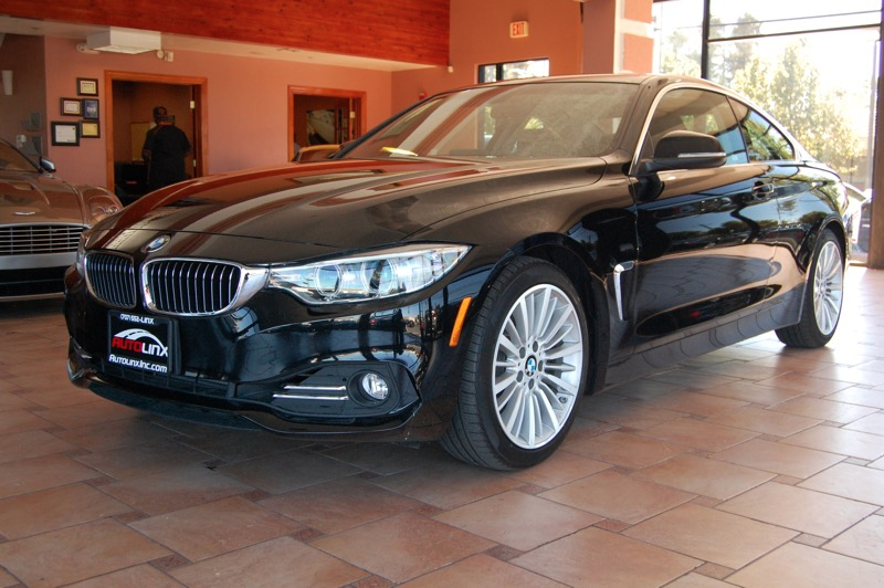2014 BMW 4-Series 428i coupe  8-Speed Automatic Black Black One Owner Completely inspected and