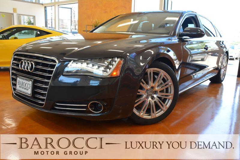 2012 Audi A8L quattro AWD  4dr Sedan 8 Speed Auto Gray Black Amazing vehicle with all the optio