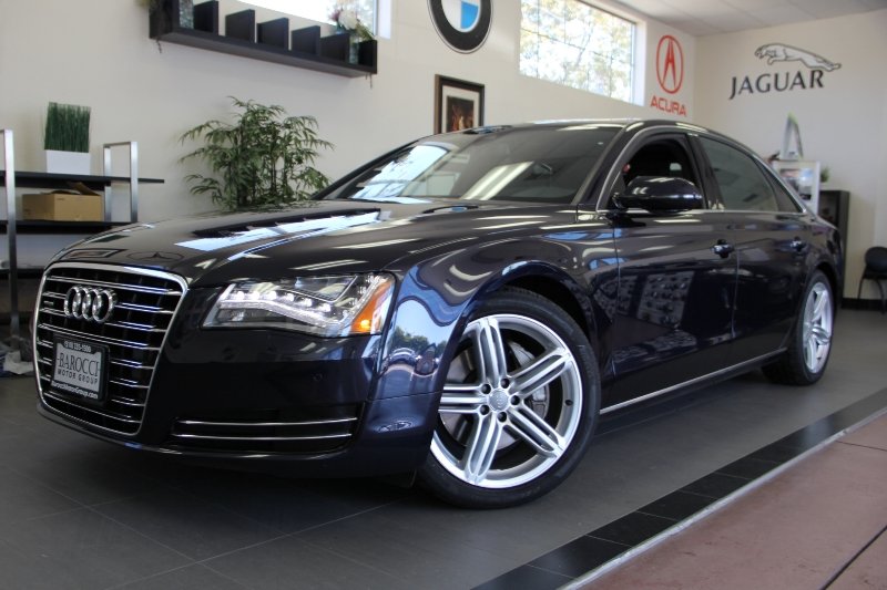 2013 Audi A8L 30T quattro LWB AWD  4dr Sedan 8 Speed Auto Blue Black This is a beautiful vehic
