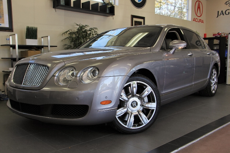 2006 Bentley Continental Flying S Base AWD 4dr Sedan 6 Speed Auto Silver Hydraulic Suspension A