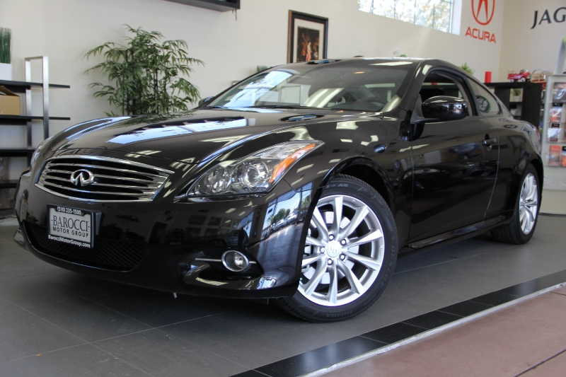2013 Infiniti G37 Coupe Journey 2dr Coupe 7 Speed Auto Black Black This one is in excellent con