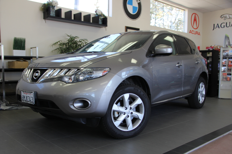 2010 Nissan Murano SL 4dr SUV Automatic CVT Gray ABS 4-Wheel Air Conditioning Alloy Wheels AM