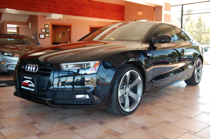 2014 Audi S5 30T Coupe quattro Tiptronic 7-Speed Automatic Black Black What are you waiting fo