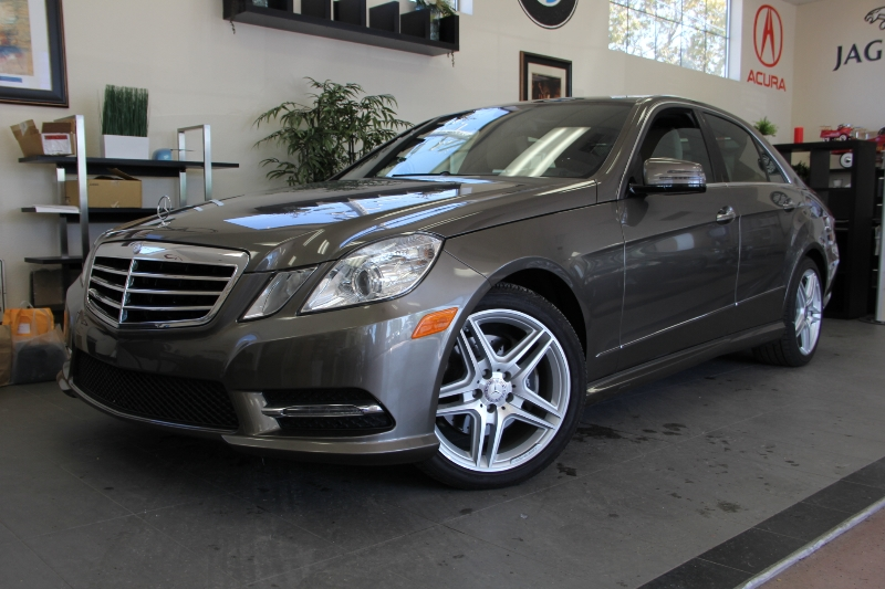 2013 MERCEDES E-Class E350 Sport 4dr Sedan 7 Speed Auto Gray Traction Control Electronic Stabil