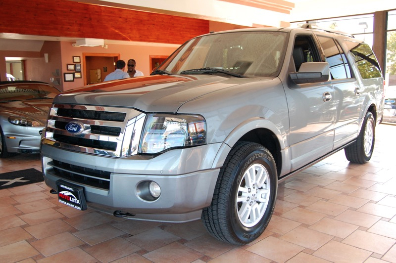 2014 Ford Expedition-EL Limited 6-Speed Automatic Gray Black 4WD Flex Fuel Dont bother lookin