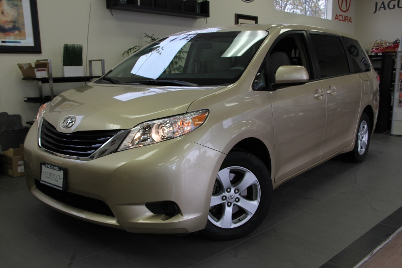 2012 Toyota Sienna LE 8-Passenger 4dr Mini-Van l4 6 Speed Auto Gold Tan This beautiful vehicle