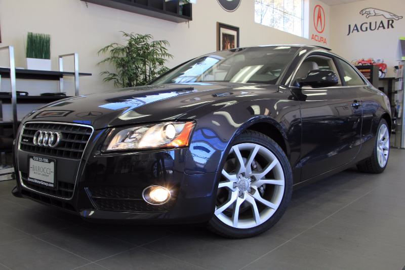 2012 Audi A5 20T Quattro Premium 2dr Coupe Automatic Blue Tan This is a beautiful vehicle in g