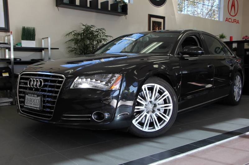 2012 Audi A8 L quattro AWD  4dr Sedan Automatic Black Amazing vehicle with all the options inclu
