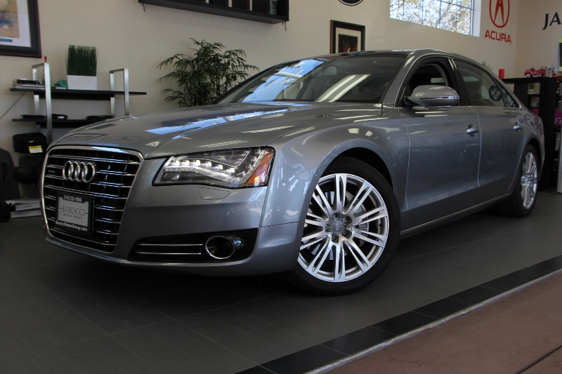 2013 Audi A8L 30T quattro LWB AWD  4dr Sedan 8 Speed Auto Gray This is a beautiful vehicle in g