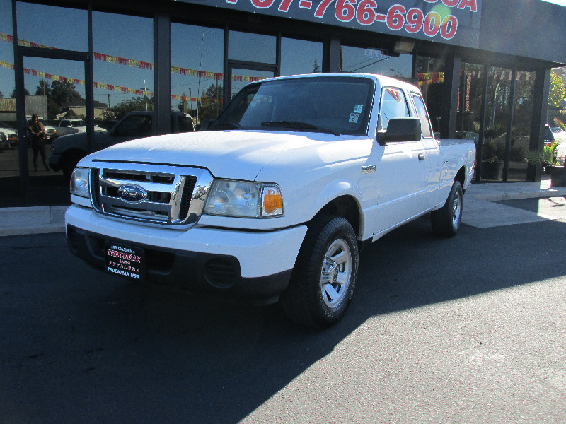 2008 Ford Ranger XL 4x2  Pickup Extended Cab Automatic White Vehicle Anti-Theft ABS Brakes Dri