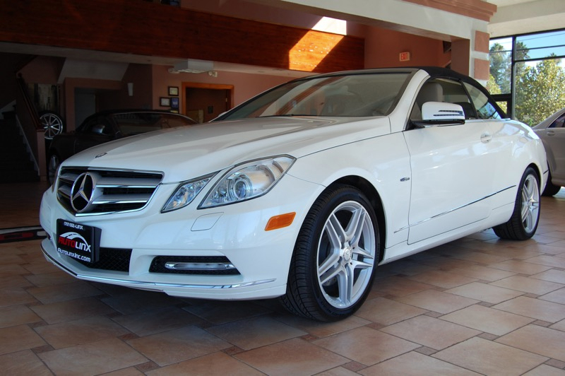2012 MERCEDES E-Class E350 Cabriolet 7-Speed Automatic White Gray Success starts with AutoLinx