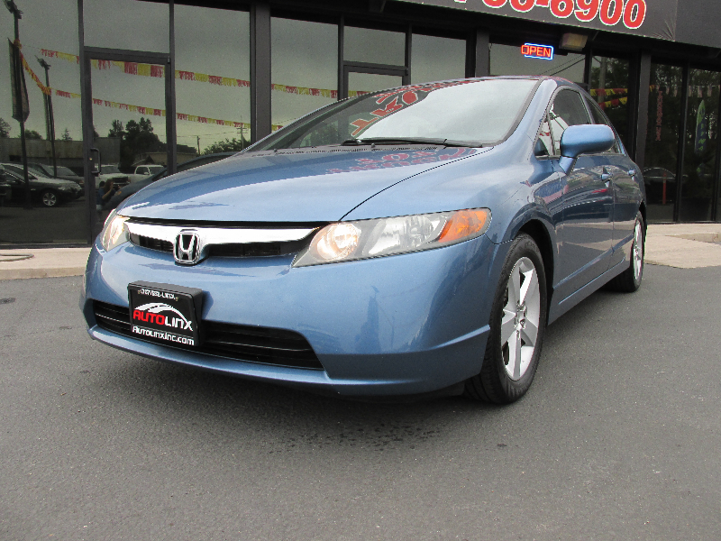 2006 Honda Civic EX Sedan AT 5-Speed Automatic Blue Gray Dont bother looking at any other car