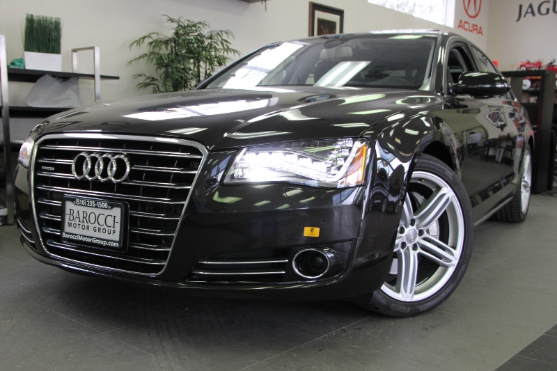 2013 Audi A8 30T quattro NWB AWD  4dr Sedan 8 Speed Auto Black This is a beautiful vehicle in g