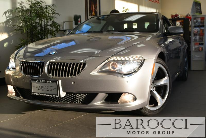 2008 BMW 6 Series 650i Coupe 6-Speed Automatic  Gray Black Beautiful car with Low Miles it has