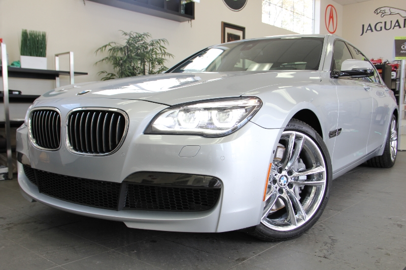 2013 BMW 7 Series 750Li MSport Package 8 Speed Auto Silver Child Safety Door Locks Power Door