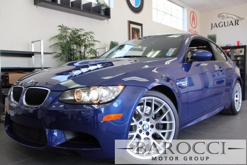 2012 BMW M3 2dr Coupe 6 Spd Manual 6 Speed Manual Blue Beige This beautiful 1 Owner M3 with ver