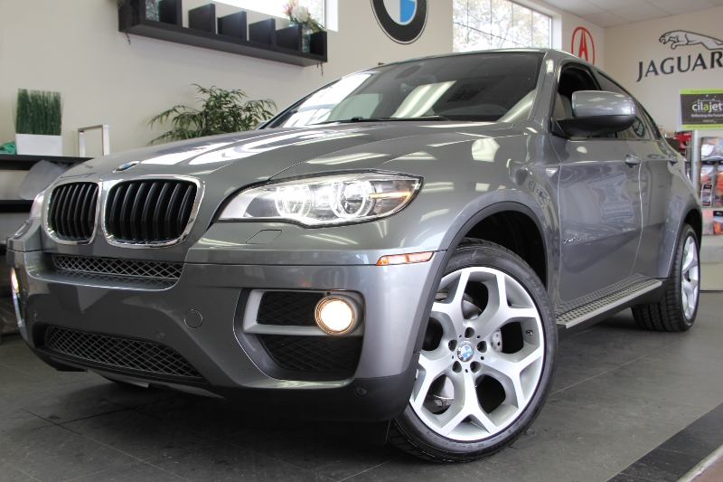 2013 BMW X6 xDrive35i AWD  4dr SUV 8 Speed Auto Gray Sport and Premium Package Navigation Rear