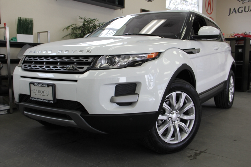 2015 Land Rover Range Rover Evoque Pure Plus AWD  4dr SUV 9 Speed Auto White ABS Air Conditioni
