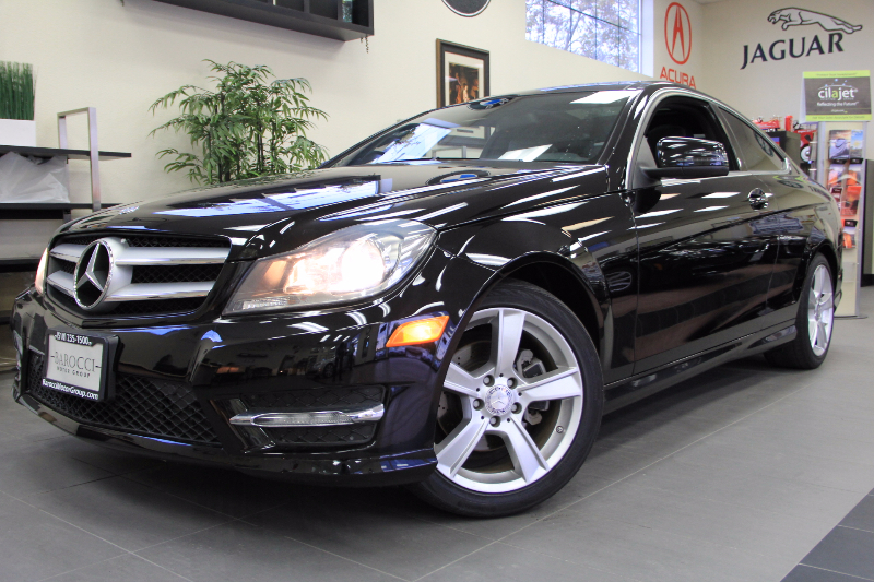 2013 MERCEDES C-Class C250 2dr Coupe 7 Speed Auto Black This beautiful One Owner car gets an est