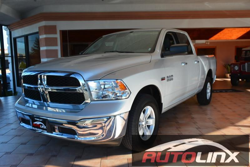 2014 Ram 1500 Quad Cab Lone Star 4x4  4dr Quad Cab 63 ft Gas Silver Silver 4WD Extended Cab