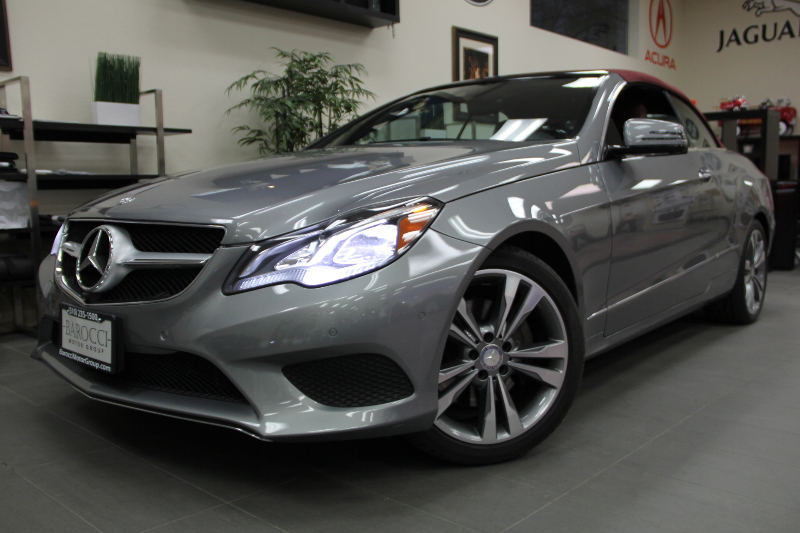 2014 MERCEDES E-Class E350 2dr Convertible Automatic Gray Red Fully Loaded with options One of