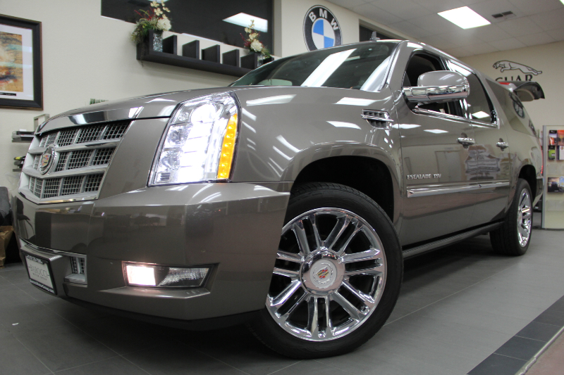 2012 Cadillac Escalade ESV Platinum Edition 4dr SUV Automatic Bronze Brown ABS Air Conditionin