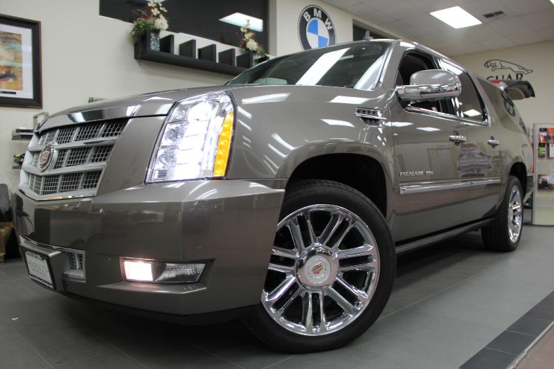 2012 Cadillac Escalade ESV Platinum Edition 4dr SUV Automatic Bronze Brown ABS Air Conditionin